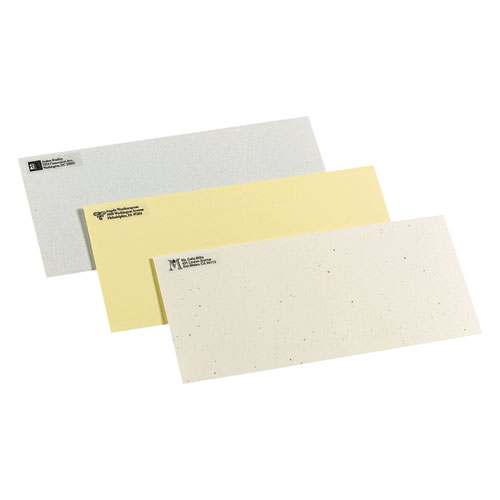 Matte Clear Easy Peel Mailing Labels w/ Sure Feed Technology, Laser Printers, 0.5 x 1.75, Clear, 80/Sheet, 25 Sheets/Box. Picture 4