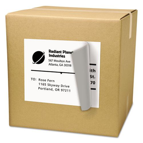 Shipping Labels with TrueBlock Technology, Laser Printers, 8.5 x 11, White, 25/Pack. Picture 3
