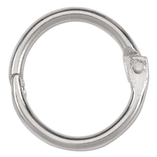 """Metal Book Rings, 3/4"""" Diameter, 100 Rings/Box. Picture 2"""