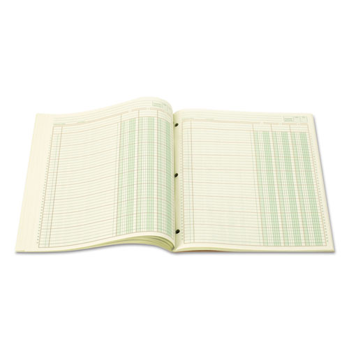 Accounting Pad, Three Eight-Unit Columns, 8-1/2 x 11, 50-Sheet Pad. Picture 2
