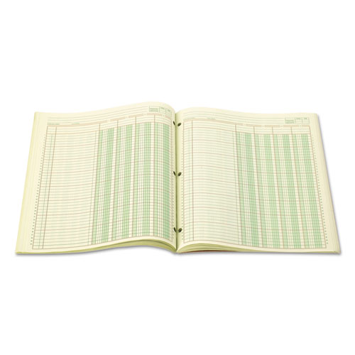 Accounting Pad, Four Eight-Unit Columns, Two-sided, Letter, 50-Sheet Pad. Picture 2
