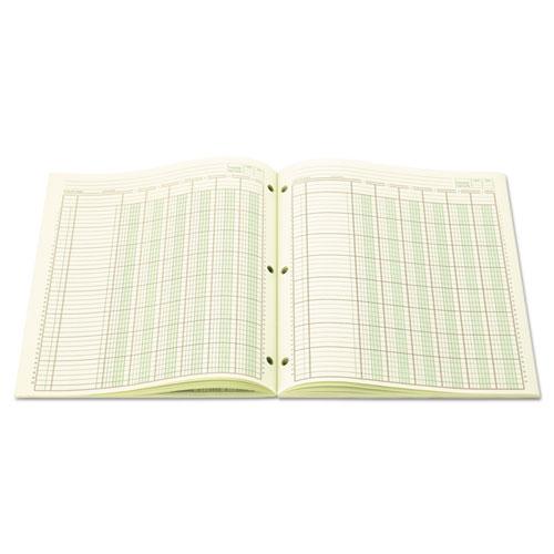 Accounting Pad, Six-Unit Columns, 8-1/2 x 11, 50-Sheet Pad. Picture 2
