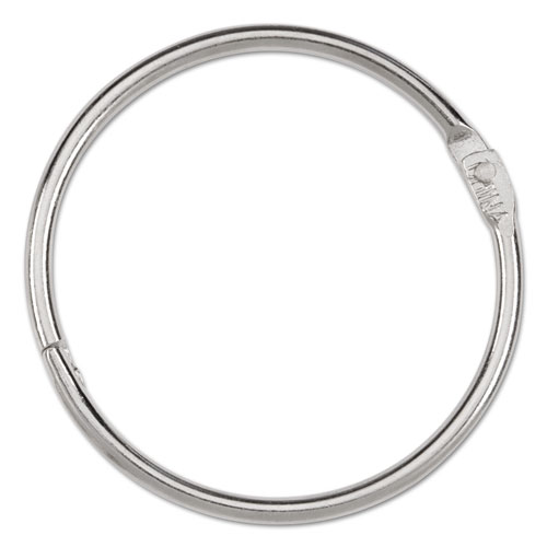 """Metal Book Rings, 2"""" Diameter, 50 Rings/Box. Picture 2"""
