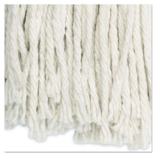 Cut-End Wet Mop Head, Cotton, No. 20, White. Picture 7
