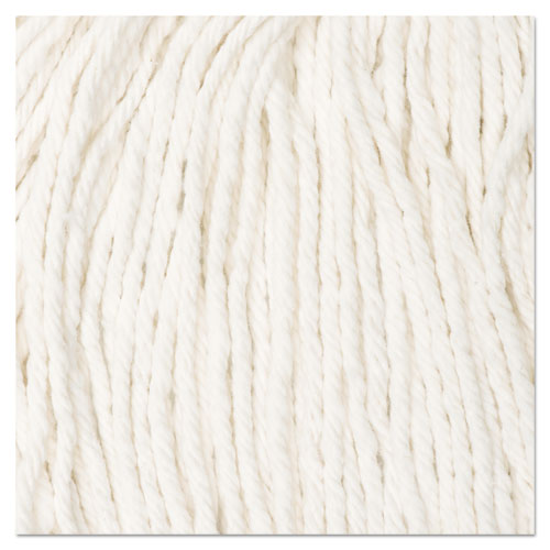 Cut-End Wet Mop Head, Cotton, #16, White, 12/Carton. Picture 2