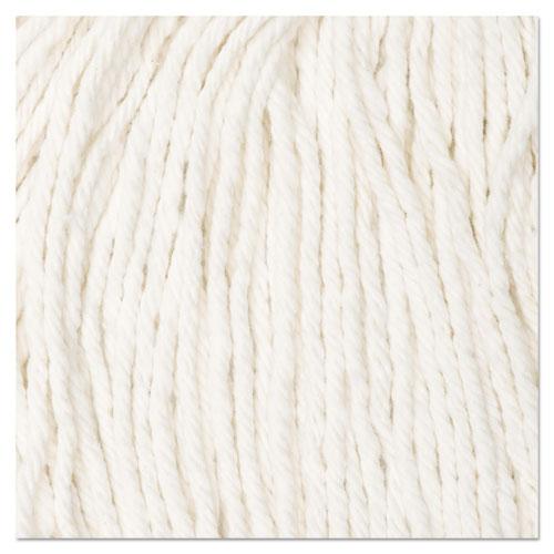 Cut-End Wet Mop Head, Cotton, No. 16 Size, White. Picture 9