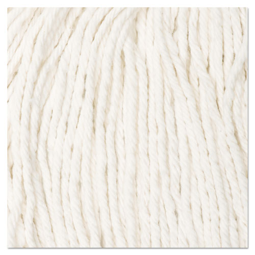 Cut-End Wet Mop Head, Rayon, No. 20, White. Picture 8