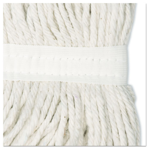 Cut-End Wet Mop Head, Rayon, No. 20, White. Picture 7