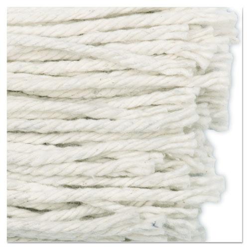Cut-End Wet Mop Head, Cotton, No. 16 Size, White. Picture 7