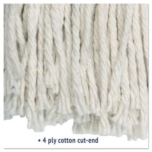Cut-End Wet Mop Head, Cotton, No. 20, White. Picture 3