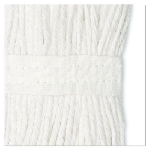 Cut-End Wet Mop Head, Cotton, No. 20, White. Picture 8