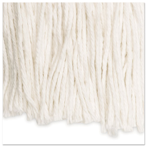 Cut-End Wet Mop Head, Rayon, No. 20, White. Picture 6