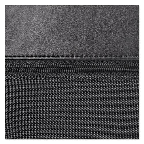 """Classic Smart Strap Briefcase, 16"""", 17 1/2"""" x 5 1/2"""" x 12"""", Black. Picture 6"""