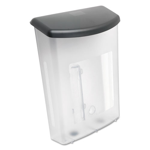 Outdoor Literature Box, 10w x 4.5d x 13.13h, Clear/Black. Picture 8