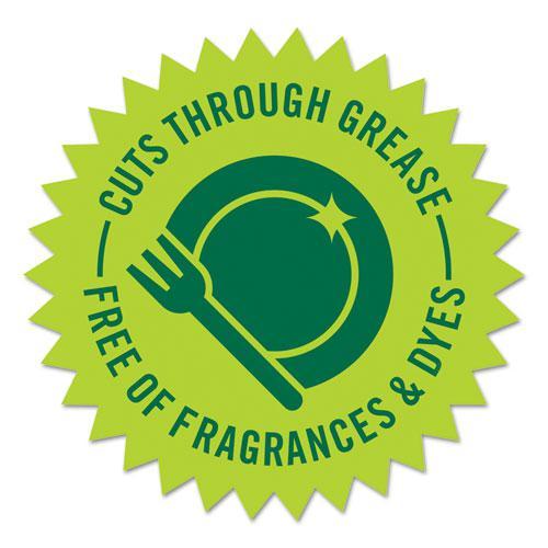 Natural Dishwashing Liquid, Fresh Lemon and Tea Tree, 22 oz Bottle, 12/Carton. Picture 3