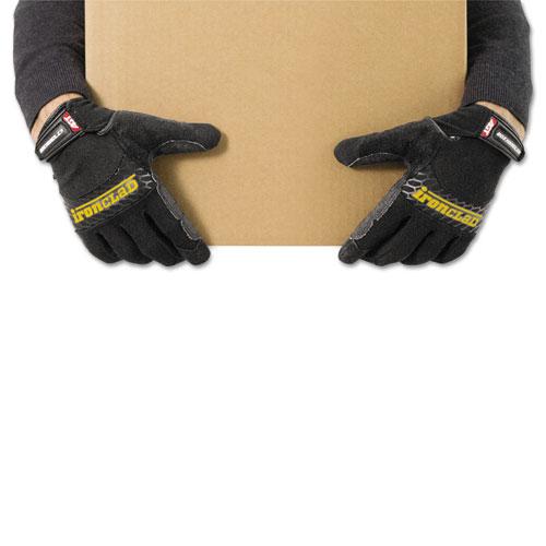 Box Handler Gloves, Black, X-Large, Pair. Picture 3