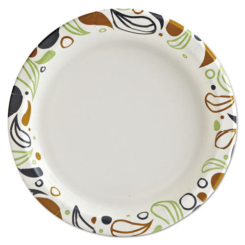 "Deerfield Printed Paper Plates, 9"" Dia,Coated/Soak Proof 125 Plates/Pk, 8 Pks/Ct. Picture 3"