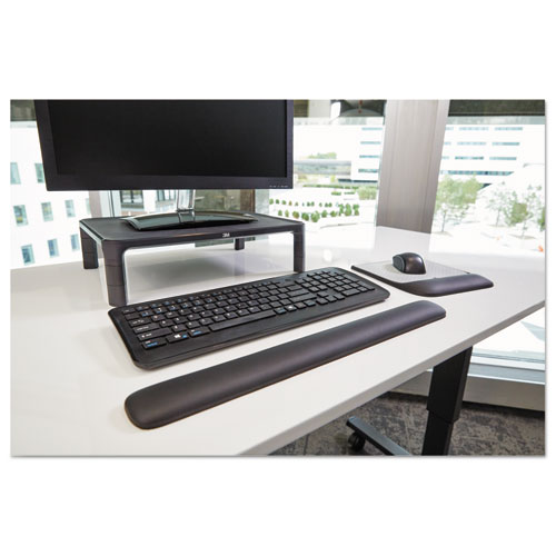 """Gel Wrist Rest for Keyboards, 19""""x 2"""" x 3/4"""", Solid Color. Picture 8"""