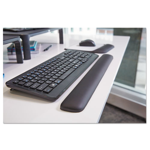 """Gel Wrist Rest for Keyboards, 19""""x 2"""" x 3/4"""", Solid Color. Picture 5"""