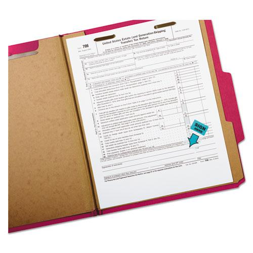 """Arrow Message 1"""" Page Flags,  200 """"Sign Here"""", 48 Arrow, Four Colors, 248/Pack. Picture 3"""