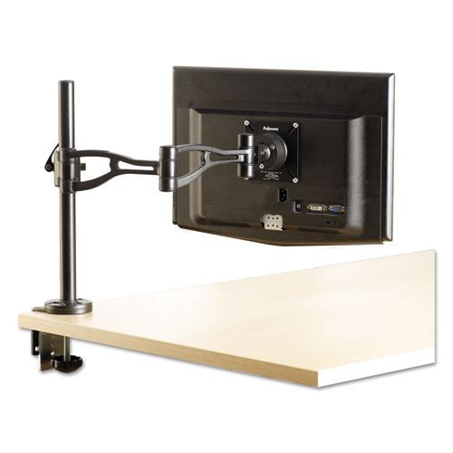 Professional Series Depth Adjustable Monitor Arm, 360 Degree Rotation, 37 Degree Tilt, 360 Degree Pan, Black, Supports 24 lb. Picture 6