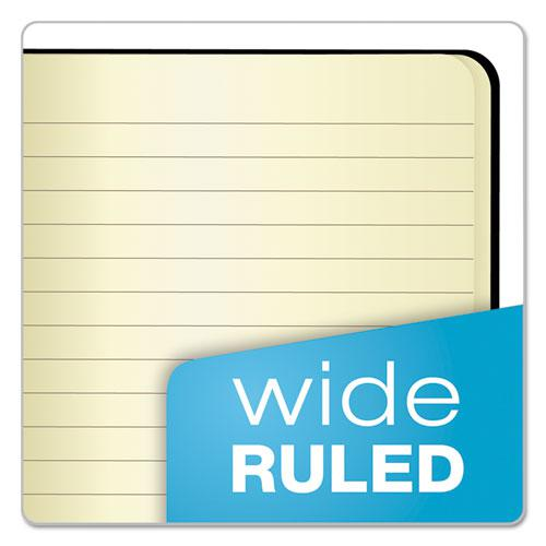 Idea Collective Journal, Wide/Legal Rule, Black Cover, 5.5 x 3.5, 40 Sheets, 2/Pack. Picture 2