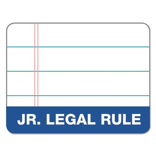 Docket Ruled Perforated Pads, Medium/College Rule, 3 x 5, White, 50 Sheets, 12/Pack. Picture 3