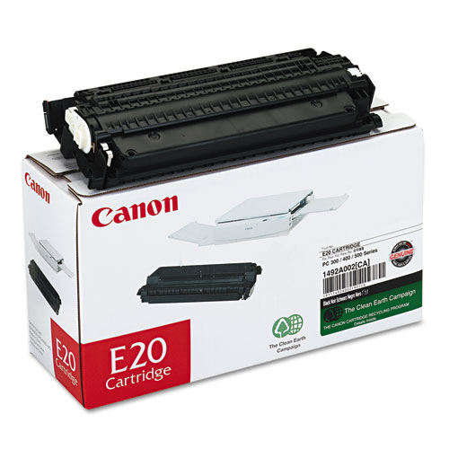 1492A002 (E20) Toner, 2,000 Page-Yield, Black. Picture 1