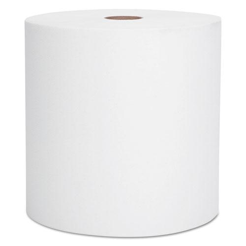 """Essential High Capacity Hard Roll Towel, 1.5"""" Core, 8 x 1000 ft, Recycled, White, 6/Carton. Picture 1"""