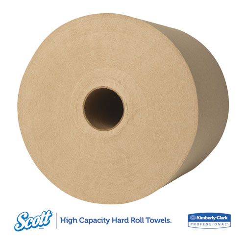 """Hard Roll Towels, 1.5"""" Core, 8 x 800ft, Natural, 12 Rolls/Carton. Picture 6"""
