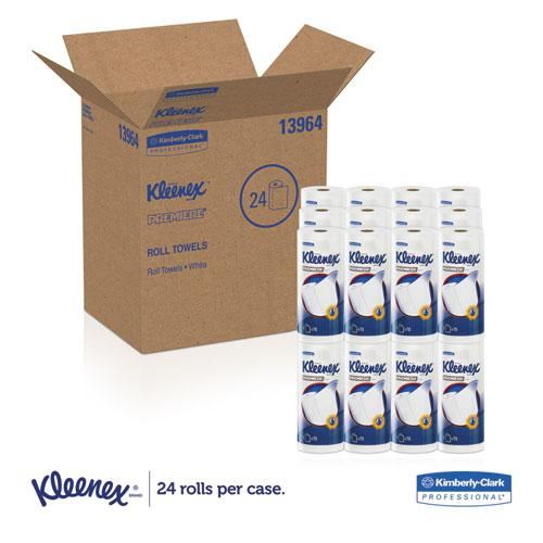Premiere Kitchen Roll Towels, White, 70/Roll, 24 Rolls/Carton. Picture 6