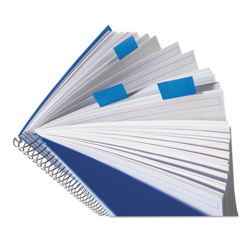 Marking Page Flags in Dispensers, Blue, 12 50-Flag Dispensers/Pack. Picture 3