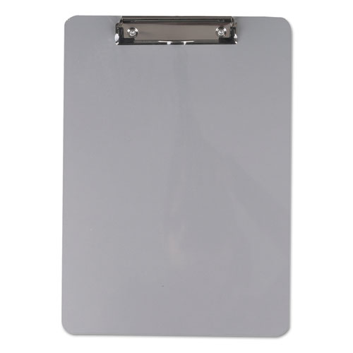 """Aluminum Clipboard with Low Profile Clip, 1/2"""" Capacity, 8 x 11 1/2 Sheets. Picture 1"""