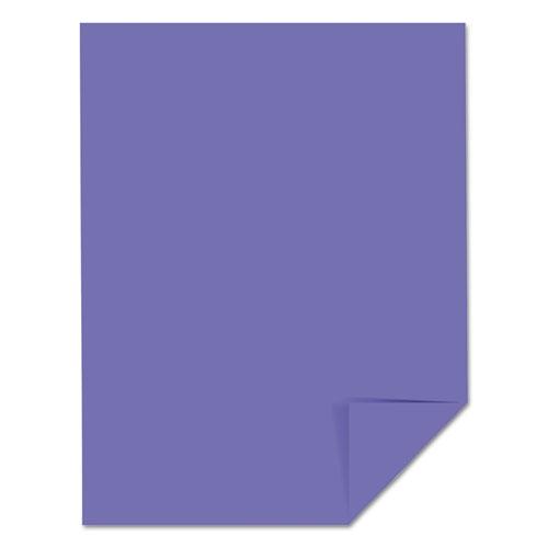 Color Cardstock, 65 lb, 8.5 x 11, Venus Violet, 250/Pack. Picture 4