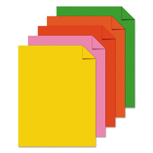 """Color Paper -""""Vintage"""" Assortment, 24lb, 8.5 x 11, Assorted Vintage Colors, 500/Ream. Picture 2"""