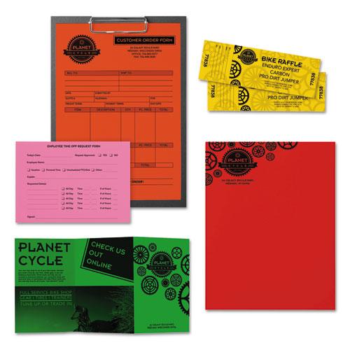 """Color Paper -""""Vintage"""" Assortment, 24lb, 8.5 x 11, Assorted Vintage Colors, 500/Ream. Picture 4"""