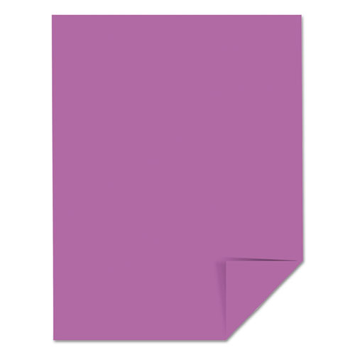 Color Paper, 24 lb, 8.5 x 11, Planetary Purple, 500 Sheets/Ream. Picture 3