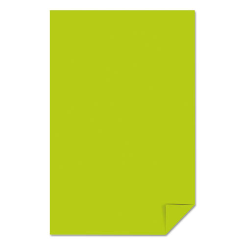 Color Paper, 24 lb, 11 x 17, Terra Green, 500/Ream. Picture 4