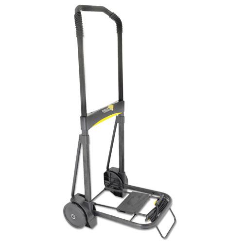 Ultra-Lite Folding Cart, 250 lb Capacity, 11 x 13.25 Platform, Black. Picture 1