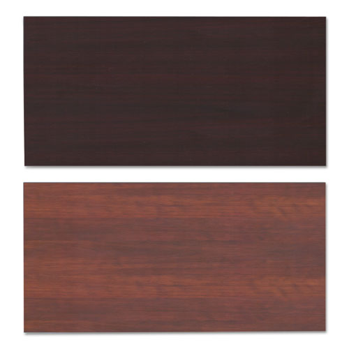 Reversible Laminate Table Top, Rectangular, 59 3/8w x 29 1/2,Med Cherry/Mahogany. Picture 2