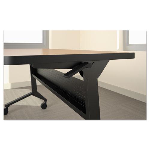 Flip-n-Go Table Base, 58 3/4w x 21 1/4d x 27 7/8h, Black. Picture 2
