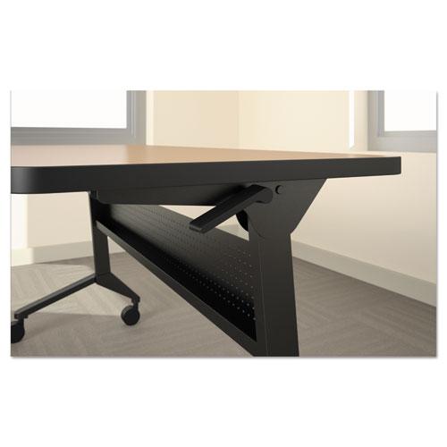 Flip-n-Go Table Base, 46 7/8w x 21 1/4d x 27 7/8h, Black. Picture 2
