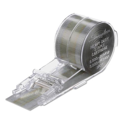 "Cartridge Staples, 0.38"" Leg, 0.5"" Crown, Steel, 5,000/Box. Picture 3"