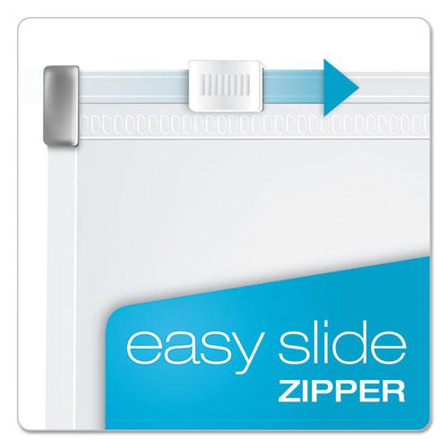 Expanding Zipper Binder Pockets, 11 x 8 1/2, Clear, 3/Pack. Picture 4