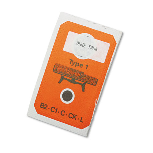 Replacement Ink Pad for Reiner 026304 Multiple Movement Numbering Machine, Black. Picture 1