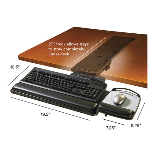Easy Adjust Keyboard Tray Highly Adjustable Platform 23