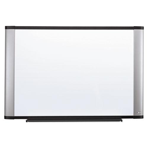 Melamine Dry Erase Board, 48 x 36, Aluminum Frame. Picture 1