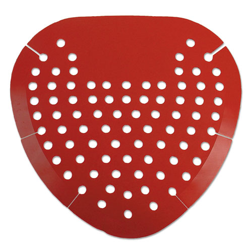 Urinal Screen, Cherry Fragrance, Red, 12/Box. Picture 1