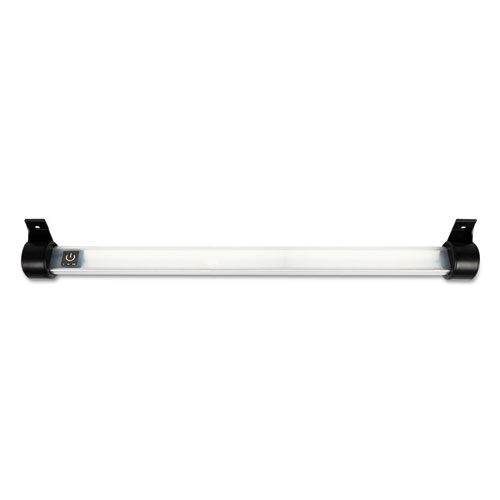 "Under Cabinet LED Strip Lamp, 24""w x 2""d x 2.88""h, Black. Picture 2"