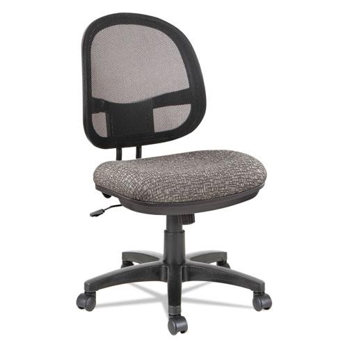 Alera Interval Series Swivel Tilt Mesh Chair Graphite Gray